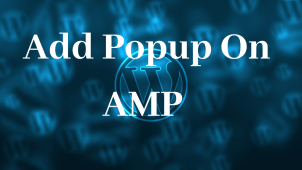How to add Popup on AMP pages
