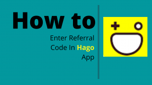 how to enter referral code in hago