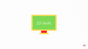 27-inch monitor for work